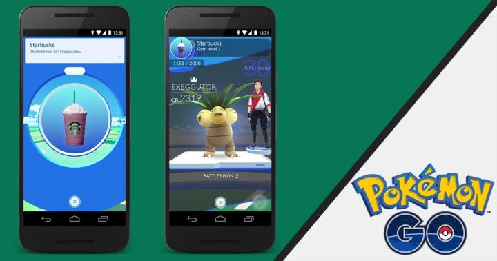 Starbucks and Pokémon GO Collaborate! All Starbucks Now PokéStop orGym!