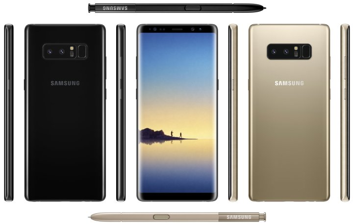 Galaxy Note 8 Leaked Again!